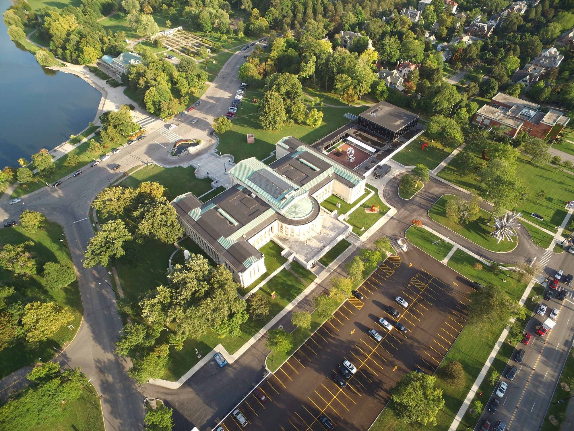 Oma Selected Buffalo' Albright-knox Art Expansion Archdaily