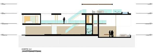 CORTE_2 3 Families - 3 Cubes / Chetecortes Architecture