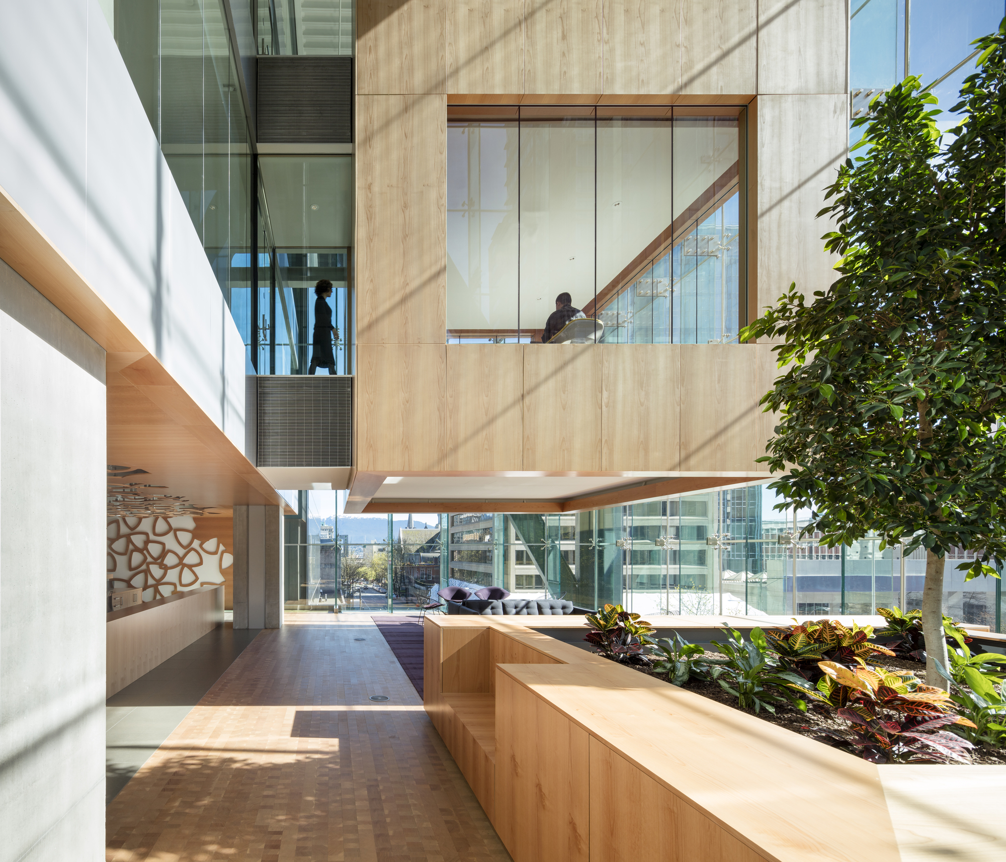 Telus Garden Office Of Mcfarlane Biggar Architects