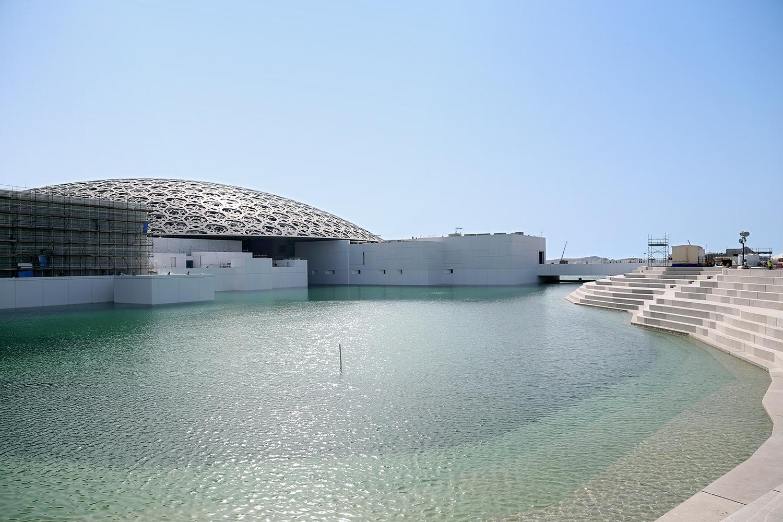 Watch Louvre Abu Dhabi Perimeter Flood Archdaily