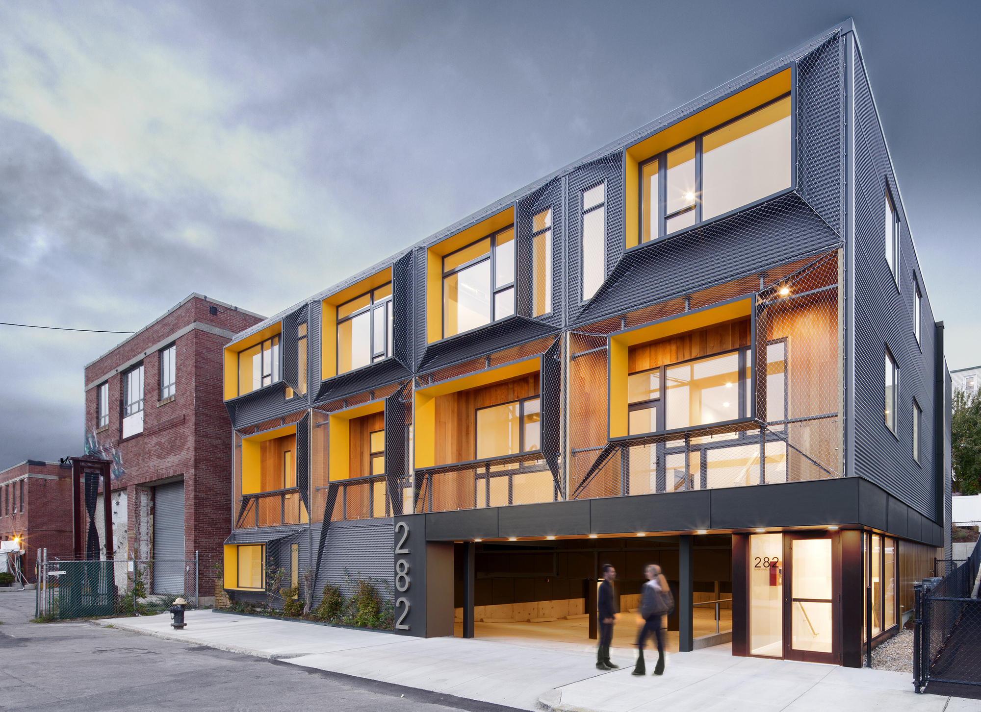 Marginal Street Lofts  Merge Architects Inc  ArchDaily