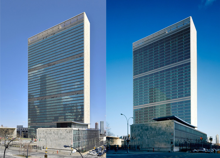 © Heintges & Associates (left); Woodruff / Brown Architectural Photography (right)