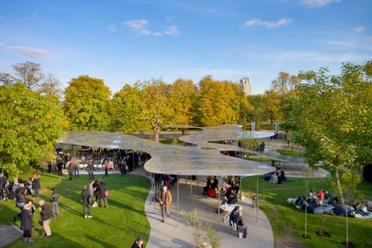 Serpentine Pavilion 2009. Image © Claire Byrne