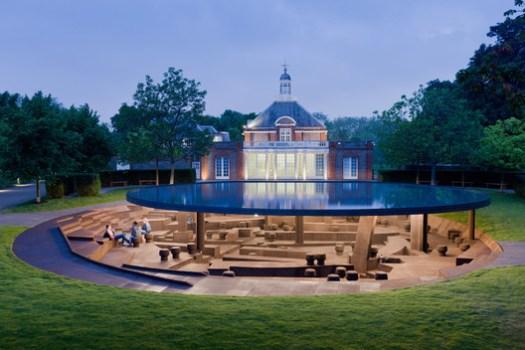 Serpentine Pavilion 2012. Image © Iwan Baan