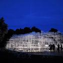 Serpentine Pavilion 2013. Image © Neil MacWilliams