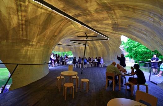 Serpentine Pavilion 2014. Image © George Rex
