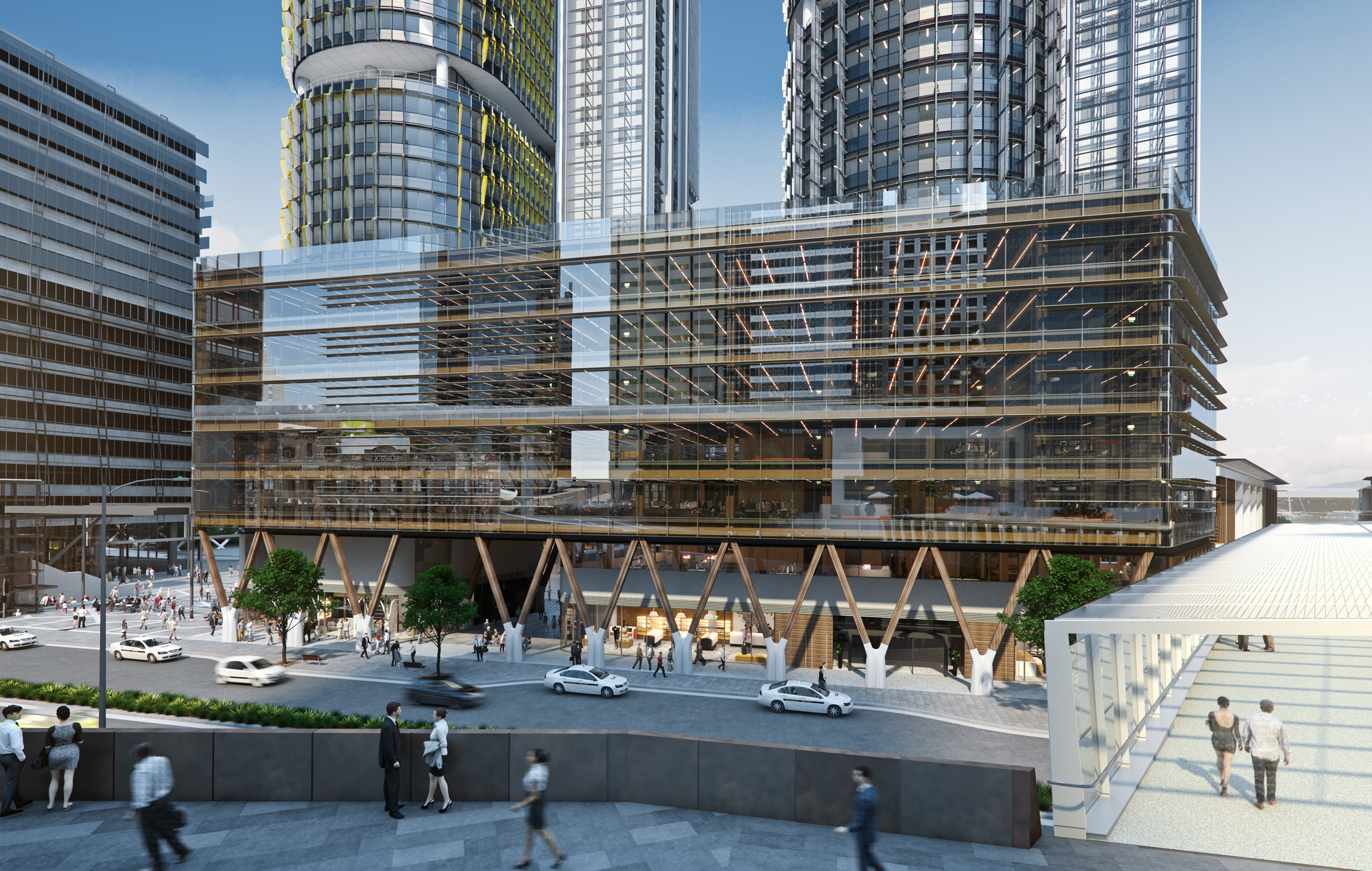 Tzannes Releases Designs For Australia S Largest