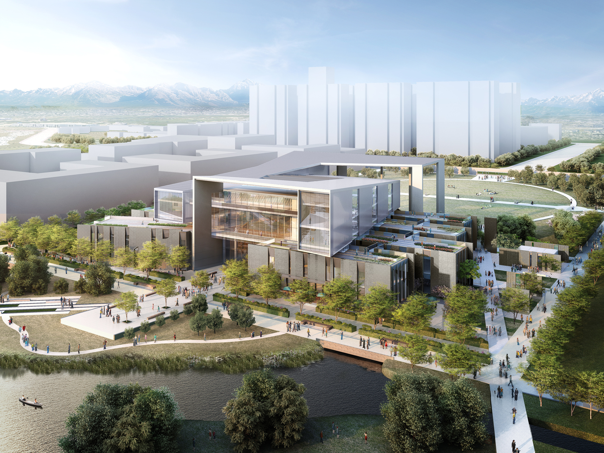 Winning Design Revealed College Of Architecture And In China Archdaily