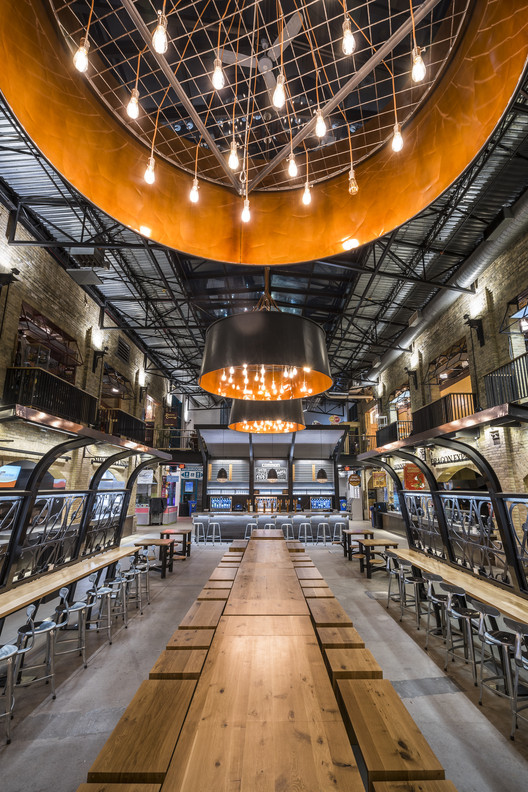 The Forks Market Food Hall  Number TEN Architectural Group  ArchDaily