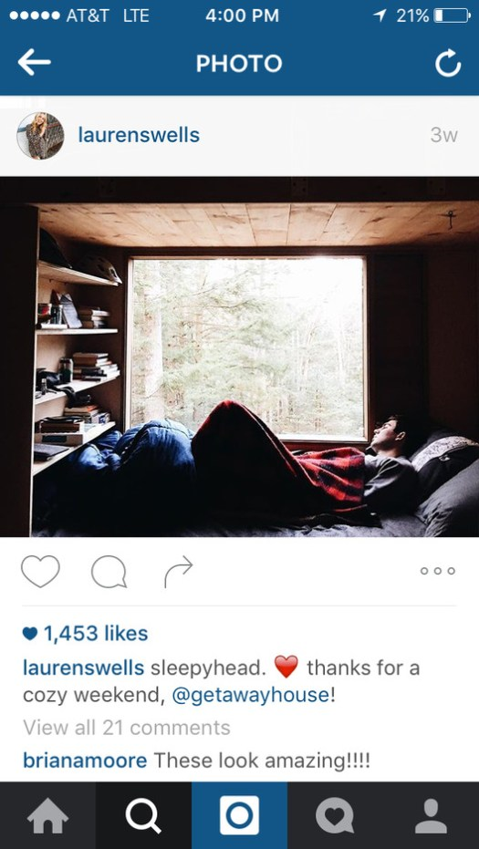 Courtesy of Instagram @laurenswells