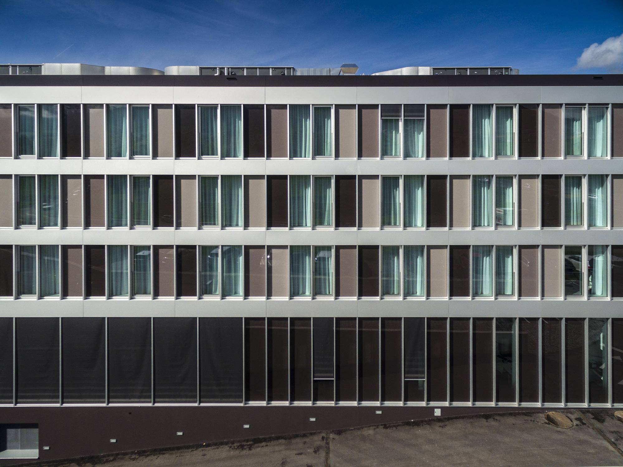 Hotel Facade Architecture