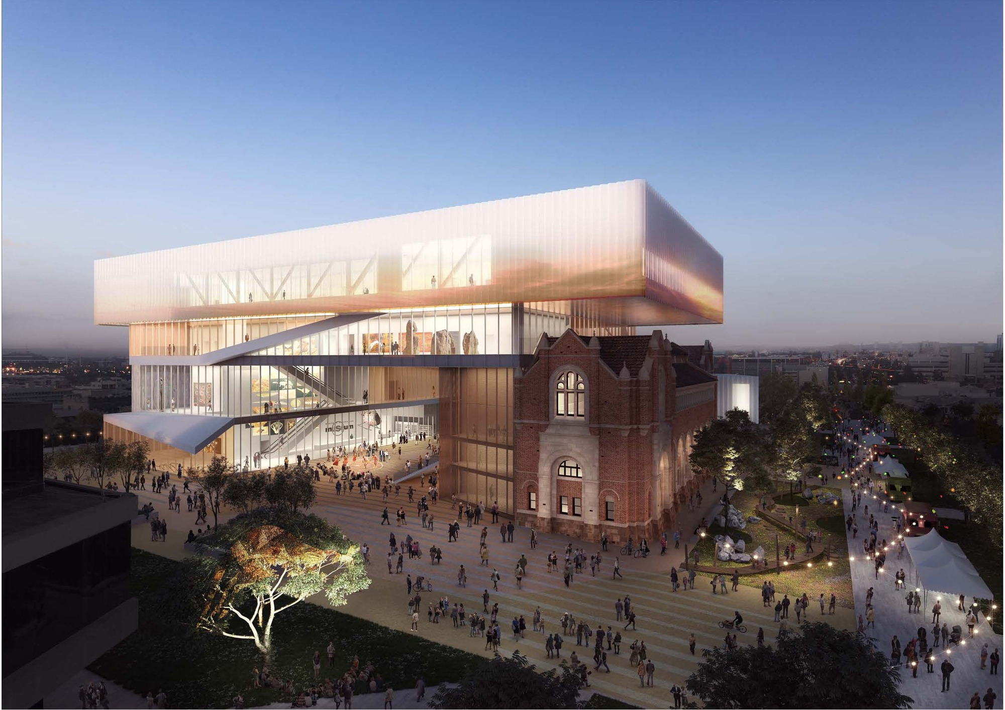 Hassell Oma Reveal Design Museum Western Australia Archdaily