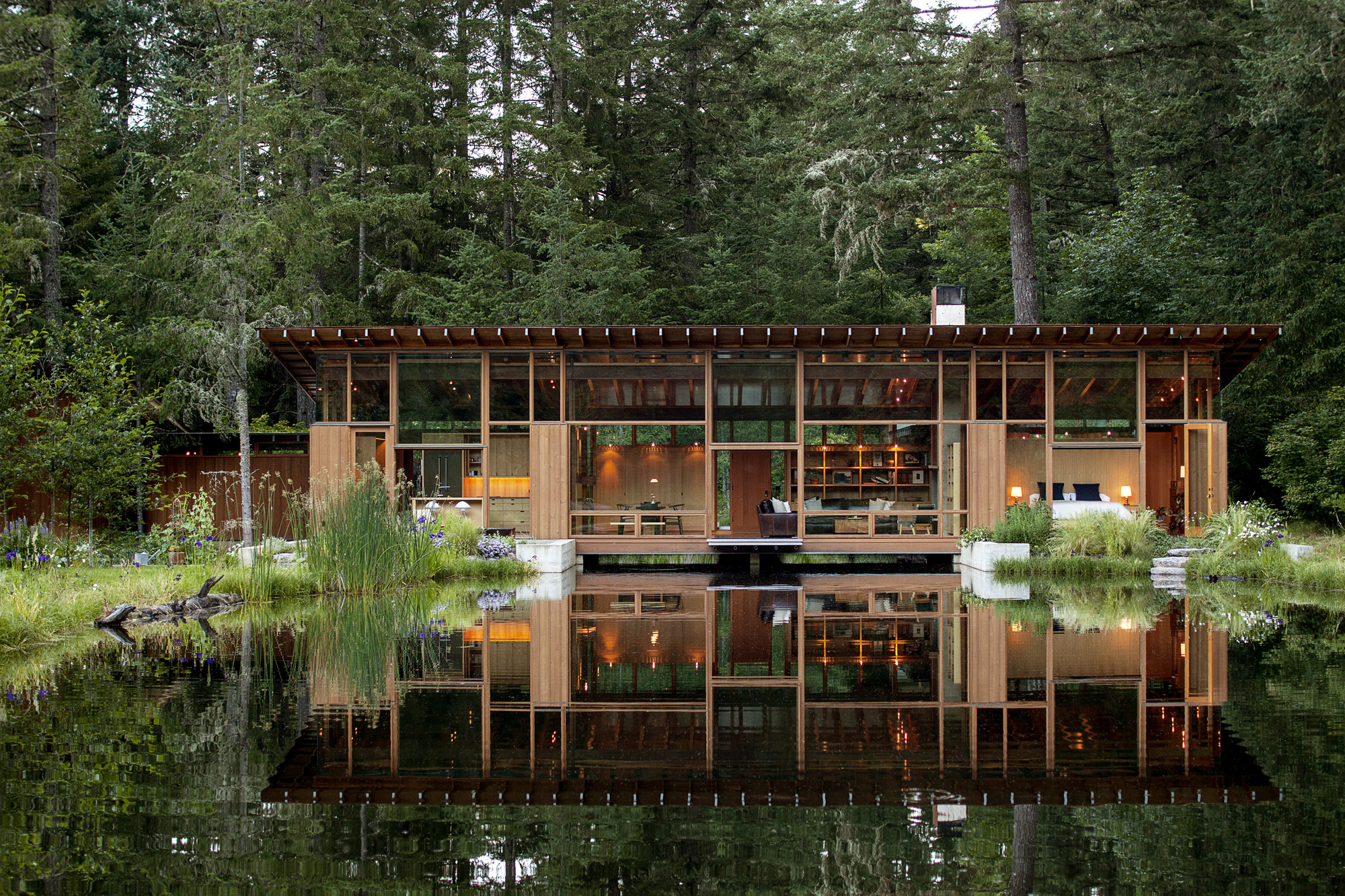 Newberg Residence Cutler Anderson Architects Archdaily