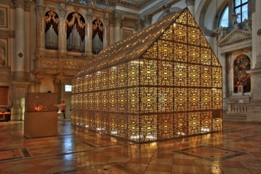 "Church of San Stae for ""BornHouse"" exhibition, Venice Architecture Biennale, 2008. Image © Yuri Grigoryan"