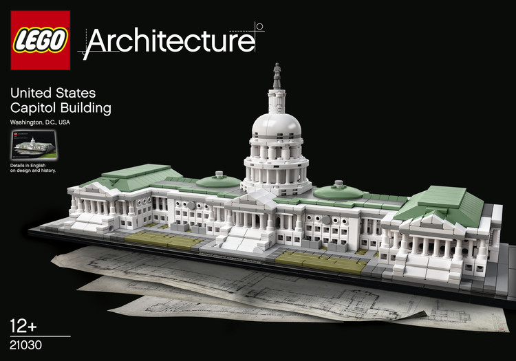 The Latest LEGO Architecture Set The US Capitol