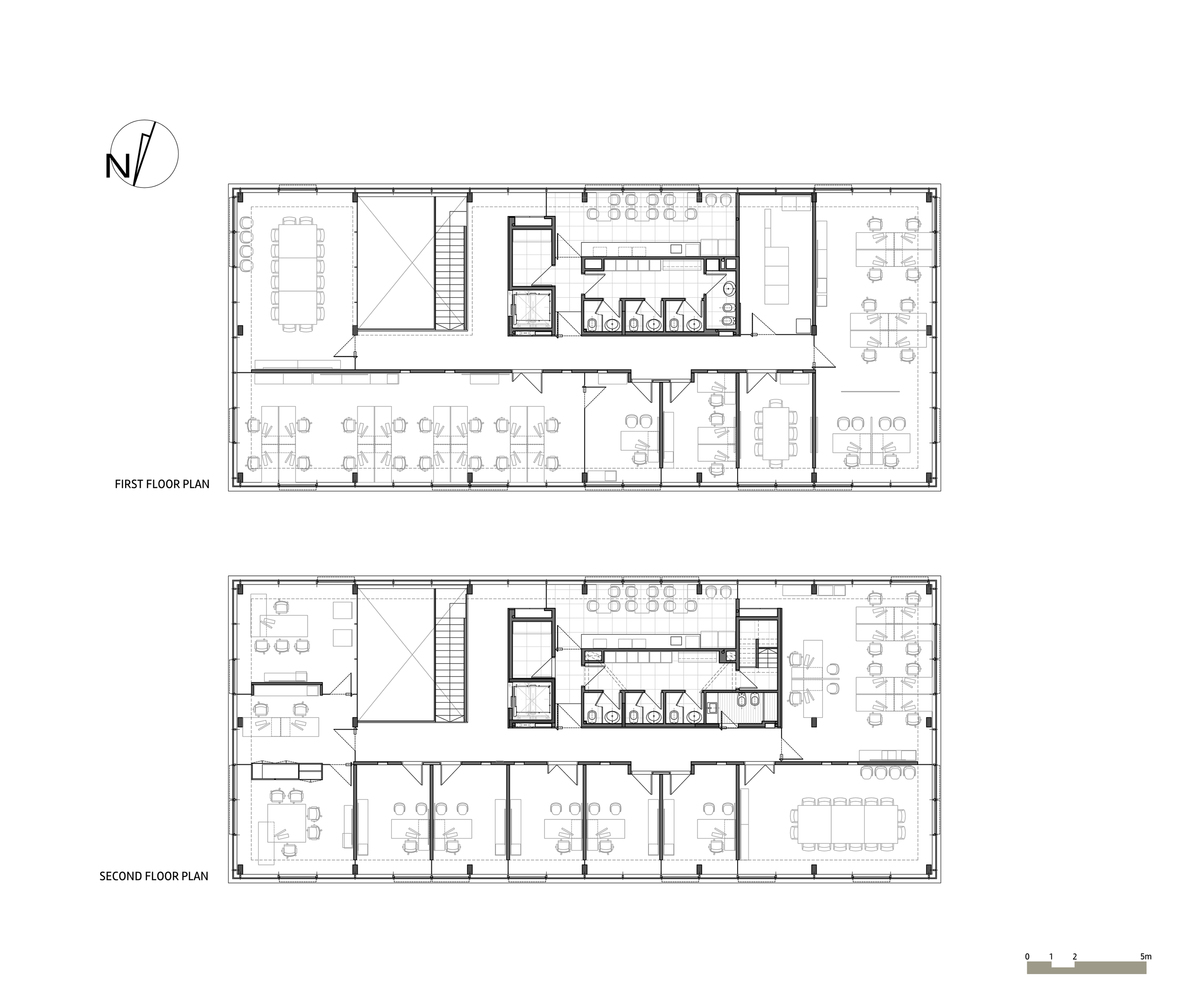 medium resolution of grupo santander montevideo headquarters floor plans