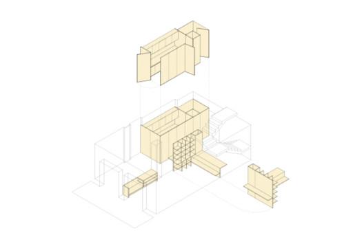 BdR_033_Desenho_02 Apartment on Aveiro Street / Branco-delRio Arquitectos Architecture