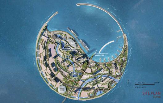 Additional Entry: The Jerde Partnership. Image Courtesy of Guallart Architects