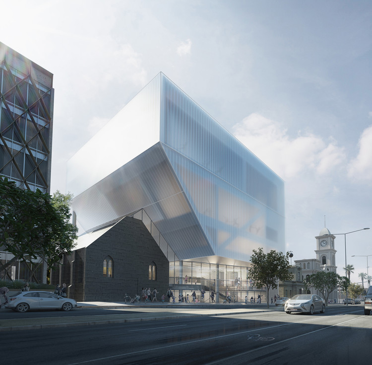 Hassell Unveil Design for Geelong Performing Arts Center, Courtesy of HASSELL