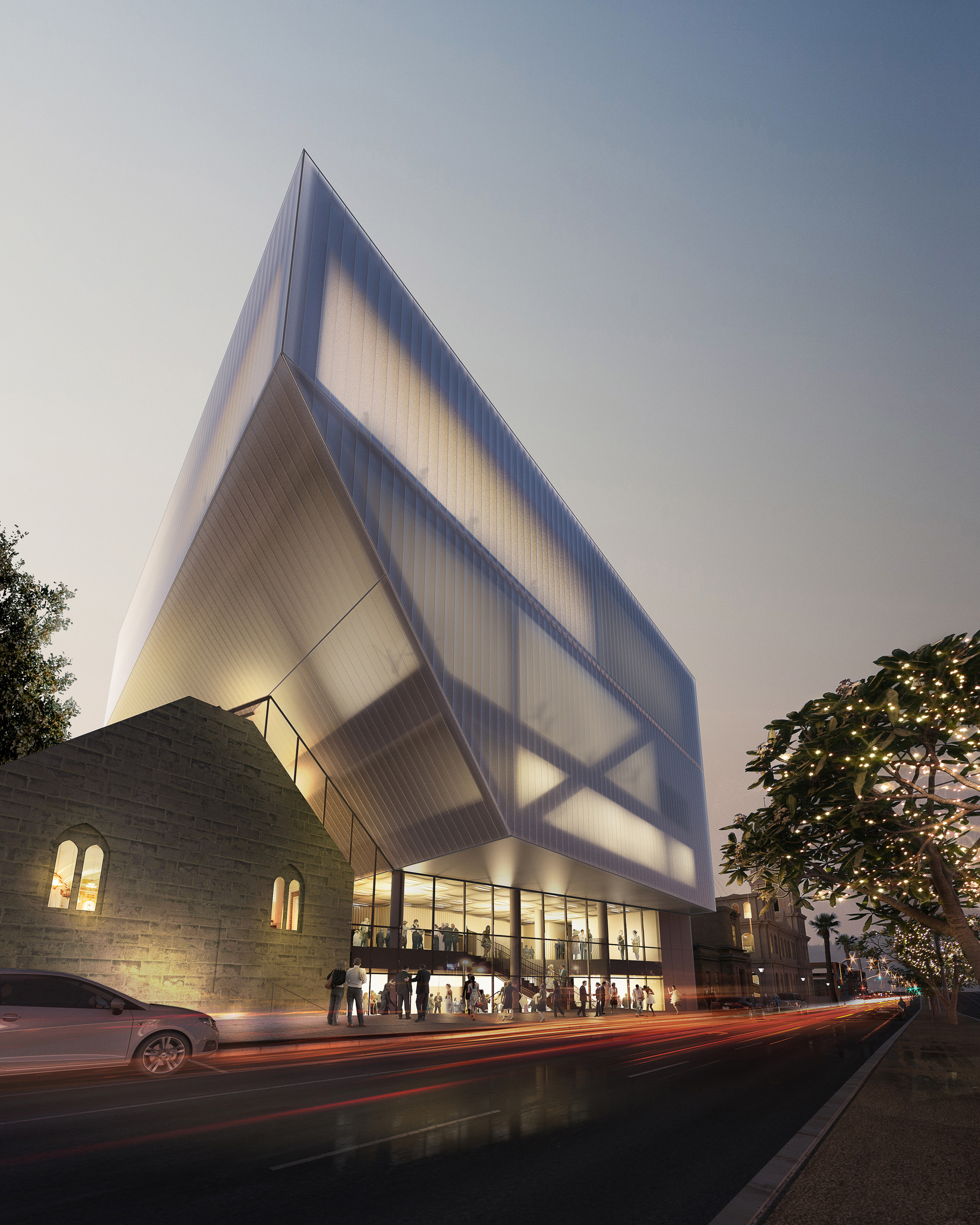 Hassell Unveil Design Geelong Performing