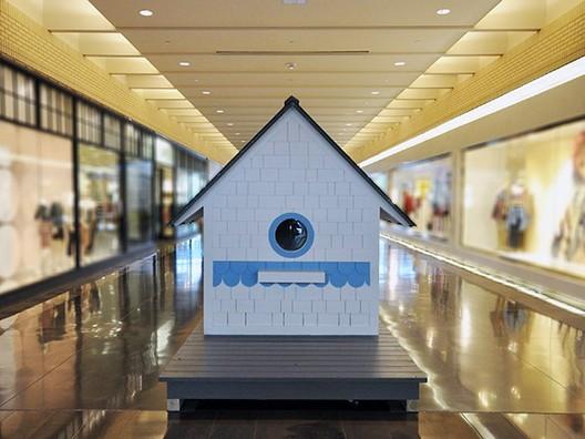 """Birdhouse"" Playhouse, Bob Borson (2013). Image Courtesy of The Life of an Architect"