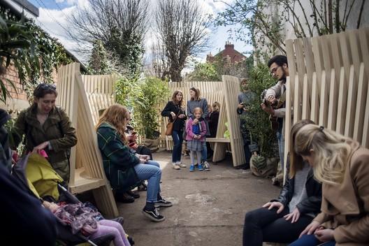 Ebenezer Gate Pocket Park (University of the West of England). Image Courtesy of Rachel Sara
