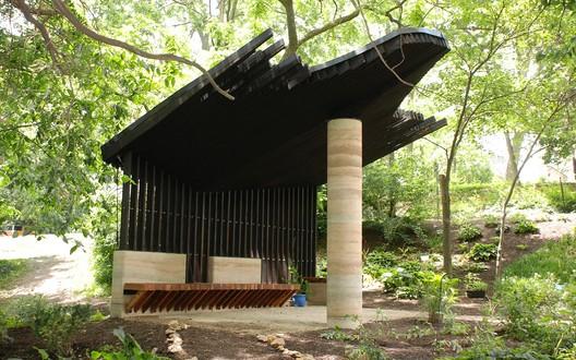 Sensory Pavilion (University of Kansas). Image © Chad Kraus courtesy of the Dirt Works Studio