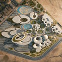 3rd Prize: Zaha Hadid Architects. Image via Bibliotecha Alexandrina / International Architectural Competition of the Science City
