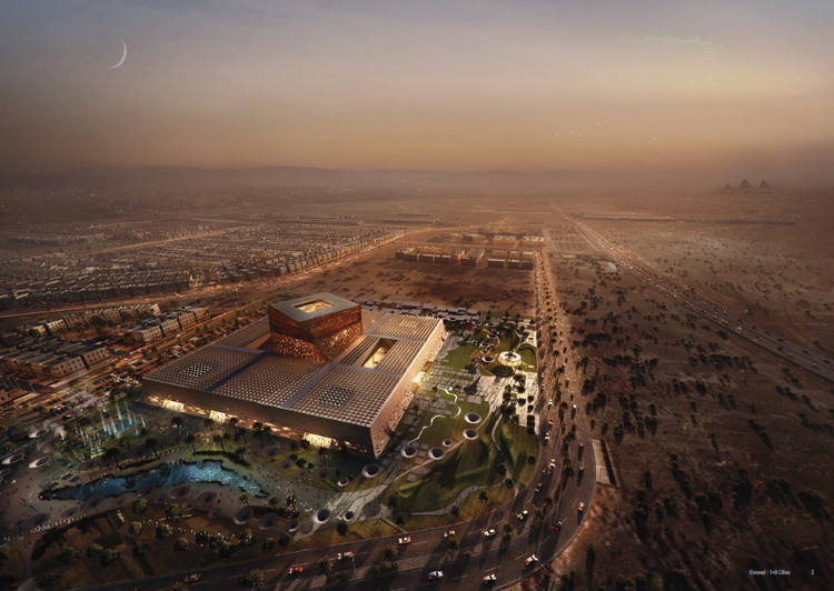 4th Prize: Gansam Architects. Image via Bibliotecha Alexandrina / International Architectural Competition of the Science City