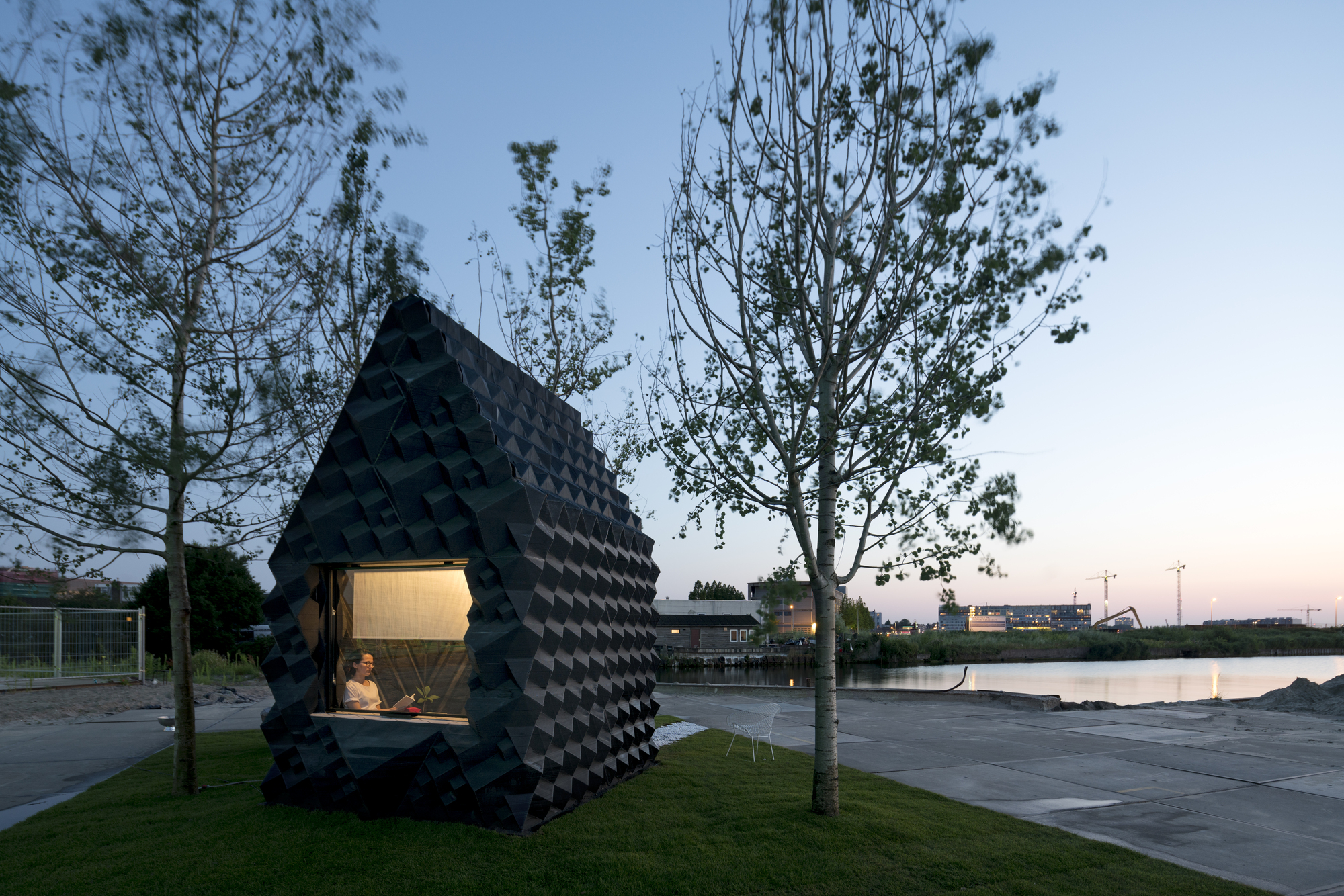 Urban Cabin Dus Architects Archdaily