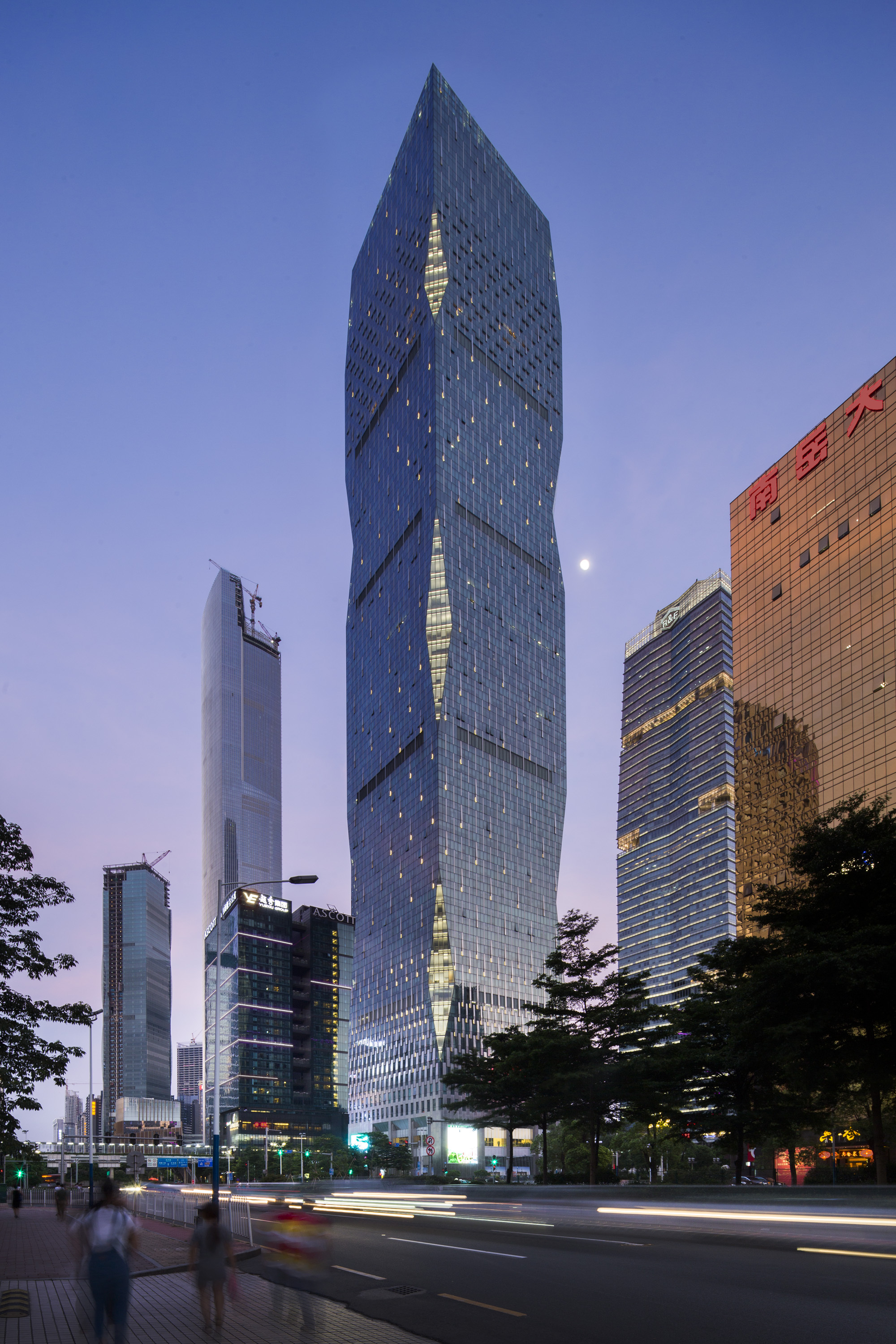 RF Yingkai Square  Goettsch Partners  ArchDaily