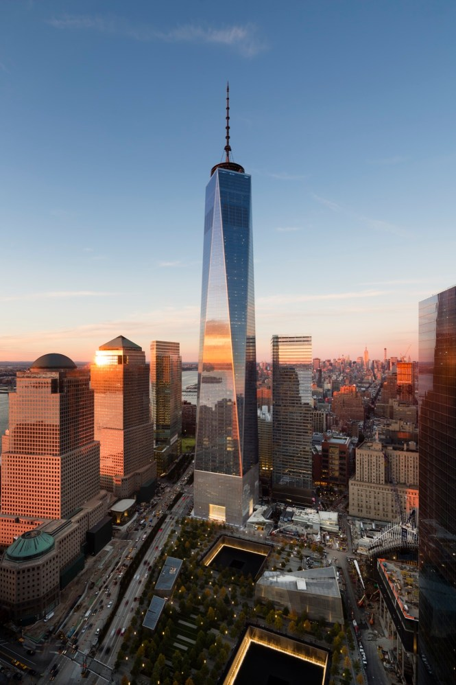 One World Trade Center Som Archdaily
