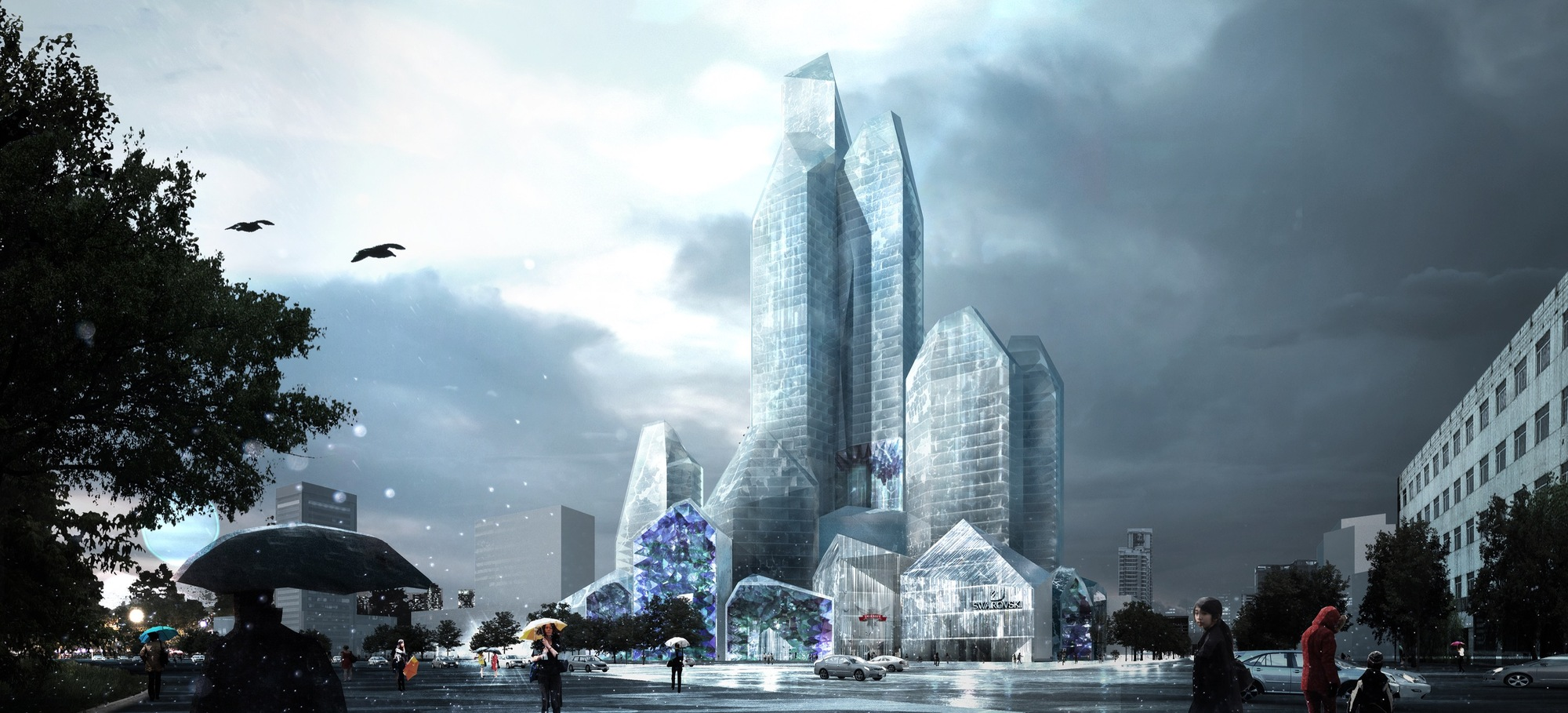 Harbin China Ice Building