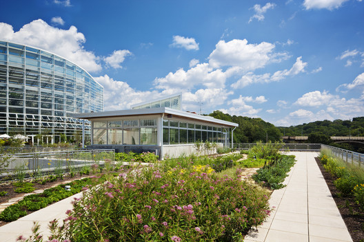 Center for Sustainable Landscapes / The Design Alliance Architects. Image © Denmarsh Photography