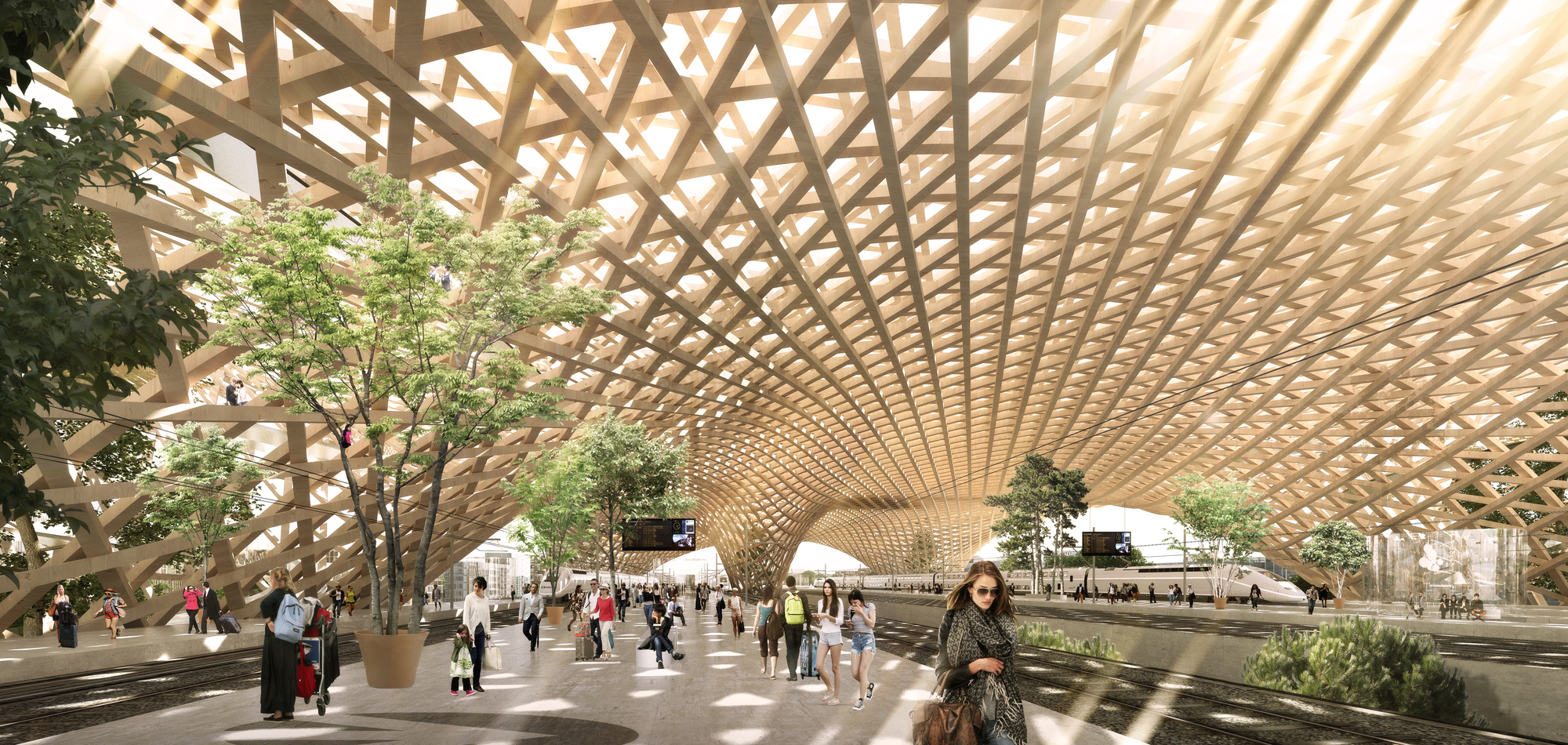 Transit Station Architecture