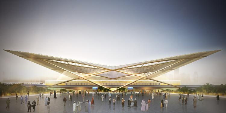 Weston Williamson+Partners Wins Competition for Dubai 2020 Rail Link, Courtesy of Weston Williamson+Partners
