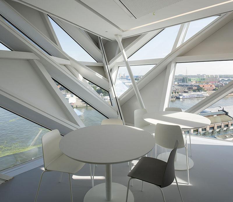 Gallery of Step Inside Zaha Hadid Architects Antwerp Port