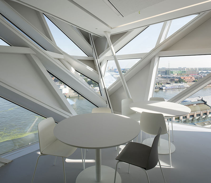 Gallery Of Step Inside Zaha Hadid Architects Antwerp Port