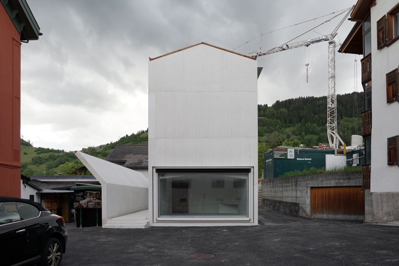 House In Laax Valerio Olgiati ArchDaily