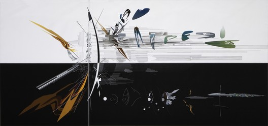 'Vision for Madrid', Spain, 1992. Image © Zaha Hadid Architects. Courtesy of Serpentine Galleries