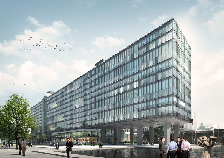 Eindhoven University of Technology Building to Become World's Most Sustainable University Building, Courtesy of Team V Architecture