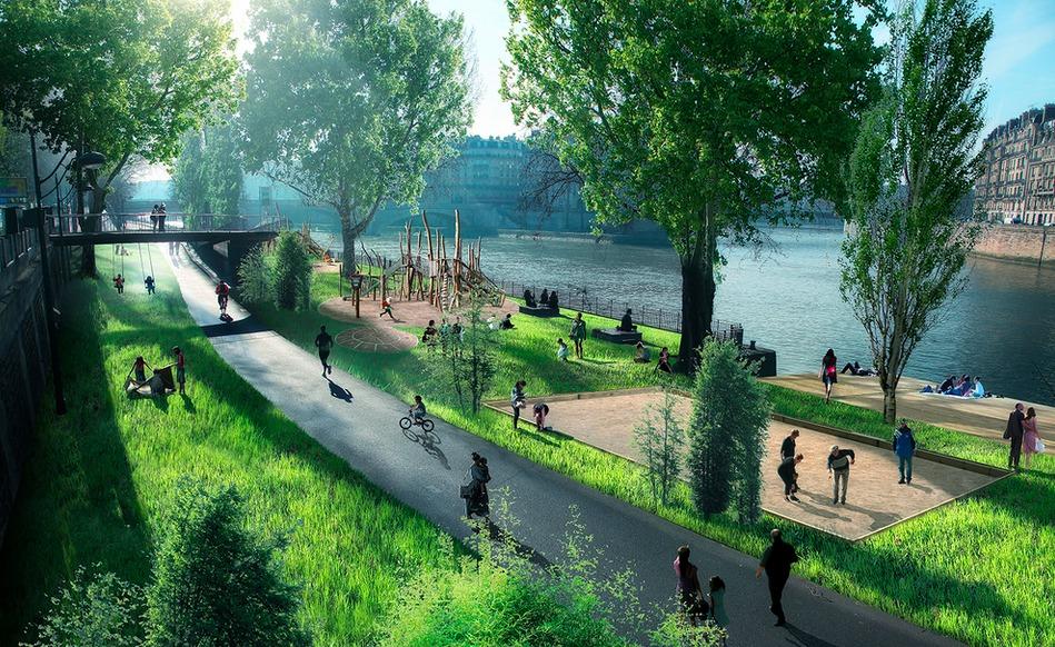 desarrollo sostenible: la ciudad de los 15 minutos.