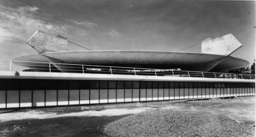 Paulistano Athletic Club, 1957. Image Courtesy of Paulo Mendes da Rocha