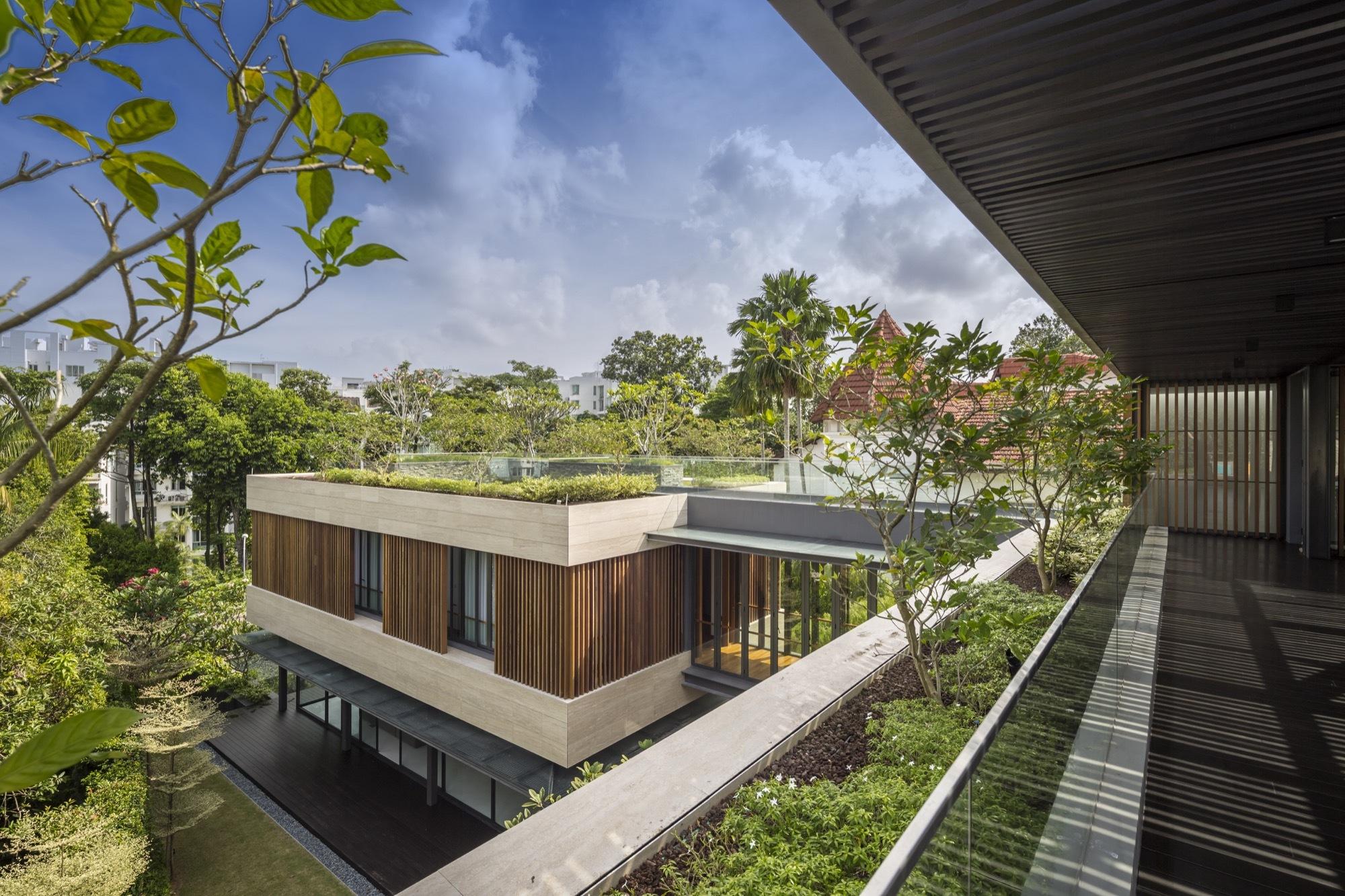 Secret Garden House Wallflower Architecture