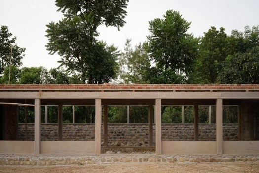 Ganga Maki Textile Studio, Bhogpur Village, Dehradun, India (2015). Image Courtesy of Studio Mumbai