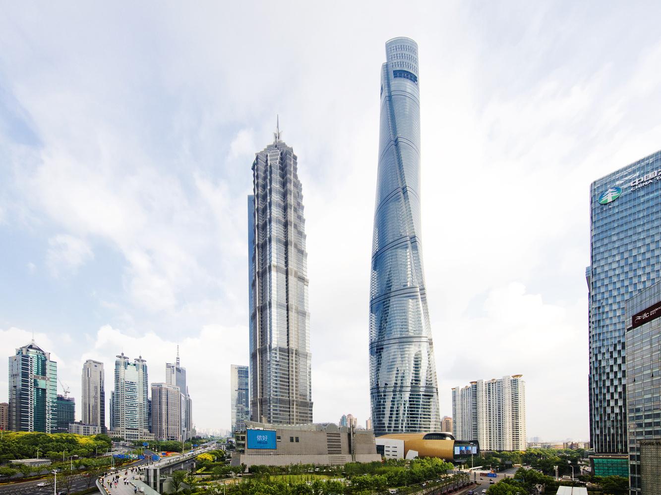 Gallery Of Gensler S Shanghai Tower Named Ctbuh S Best