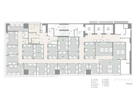 18/F floor plan