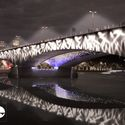 A River Ain't Too Much To Light / Les Éclairagistes Associés with ecqi and Federico Pietrella. Waterloo Bridge. Image © Malcolm Reading Consultants and Les Éclairagistes Associés