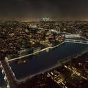 The Eternal Story of the River Thames / A_LA. High tide. Image © Malcolm Reading Consultants and AL_A
