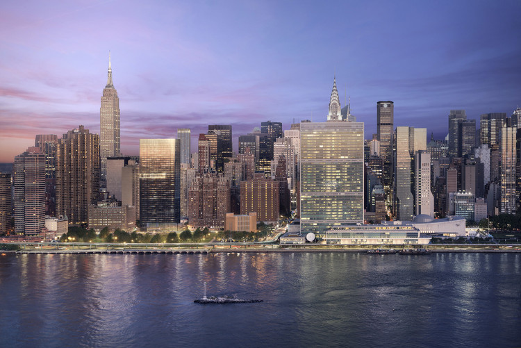 Richard Meier & Partners Unveils Milestone Black-Glass Residential Tower for New York City, © bloomimages